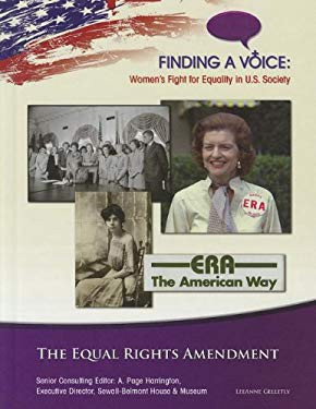 The Equal Rights Amendment 9781422223512