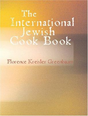The International Jewish Cook Book 9781426460975