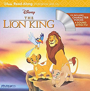 The Lion King Read-Along Storybook [With Paperback Book]