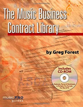 The Music Business Contract Library: Music Pro Guides 9781423454588