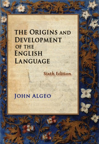 the origins of english language This page presents the timeline of the history of the english language by dan  came to be part of the english language what are the origins of the english.