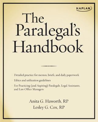 The Paralegal's Handbook 9781427797056