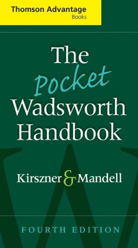The Pocket Wadsworth Handbook 9781428229785