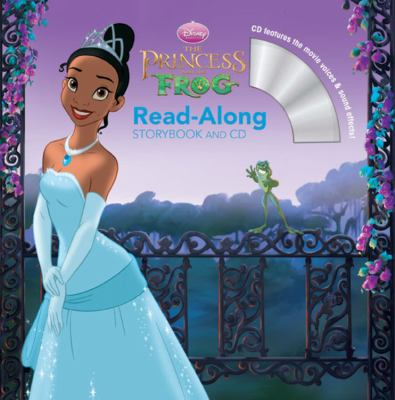 The Princess and the Frog Read-Along W/CD [With Paperback Book]