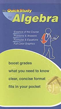 The QuickStudy for Algebra 9781423202547