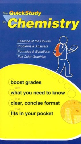 The Quickstudy for Chemistry 9781423202615