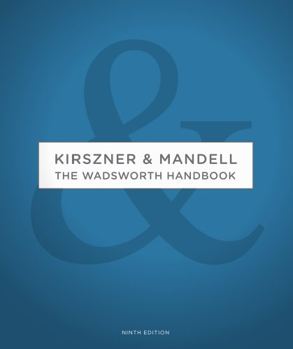 The Wadsworth Handbook: Kirszner & Mandell 9781428291935
