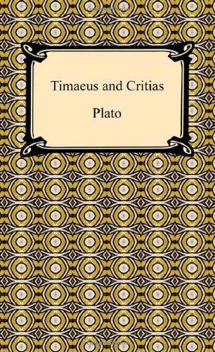 Timaeus and Critias 9781420933918