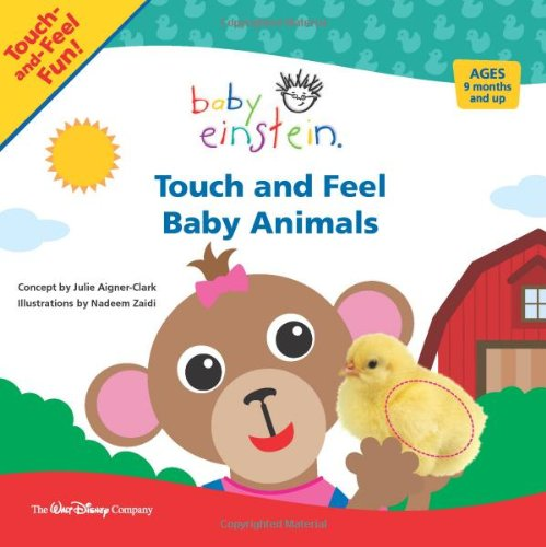 Touch and Feel Baby Animals 9781423109808