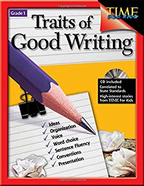 Traits of Good Writing, Grade 1 [With CDROM] 9781425802318
