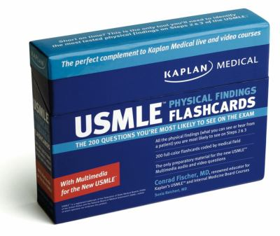 USMLE Physical Findings Flashcards: The 200 Questions You're Most Likely to See on the Exam 9781427795717