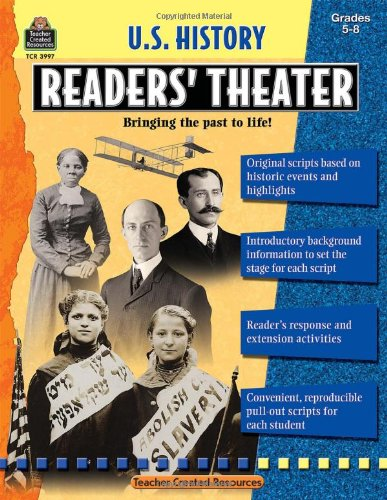 U.S. History Readers' Theater, Grades 5-8 9781420639971