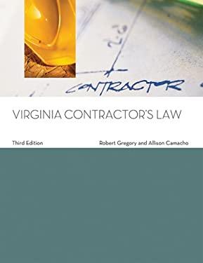 Virginia Contractor's Law 9781427784223