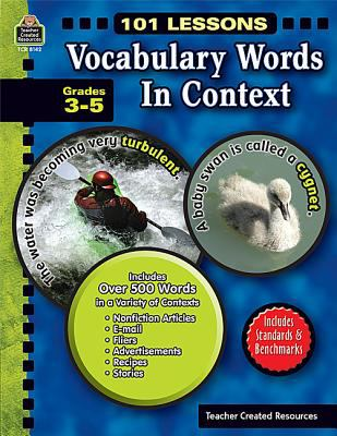 Vocabulary Words in Context, Grades 3-5 9781420681420