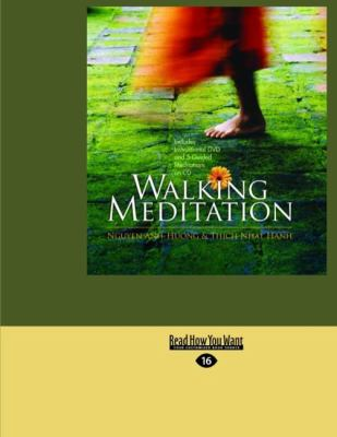 Walking Meditation (Large Print 16pt) 9781427085238