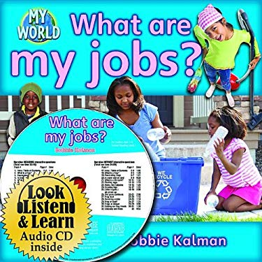 What Are My Jobs? [With Paperback Book] 9781427110534