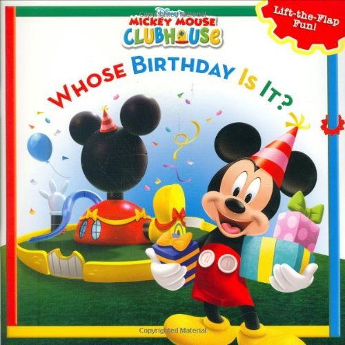 Whose Birthday Is It?: A Lift-The-Flap Surprise Story