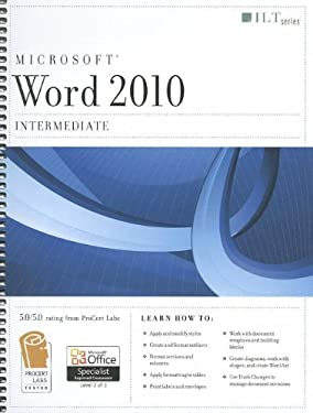 Microsoft Word 2010: Intermediate [With CDROM] 9781426021671
