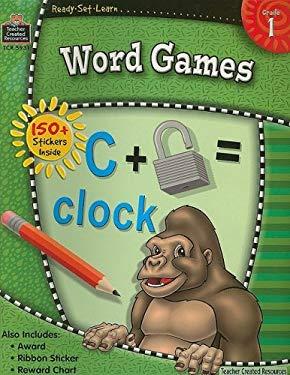 Word Games, Grade 1 9781420659313