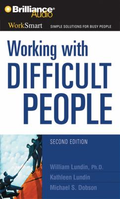 Working with Difficult People 9781423364795