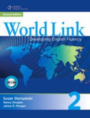 World Link Combo Split 2A: Developing English Fluency [With CDROM] - Stempleski, Susan / Douglas, Nancy / Morgan, James R.