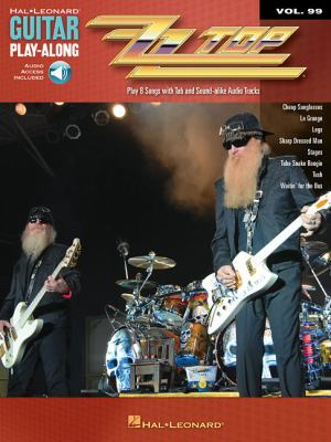 ZZ Top: Guitar Play-Along Volume 99 9781423443179