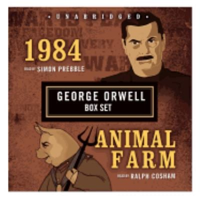 1984/Animal Farm: George Orwell Boxed Set 9781433203268