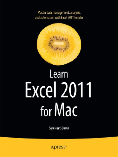 Learn Excel 2011 for Mac 9781430235217