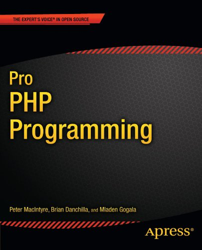 Pro PHP Programming 9781430235606