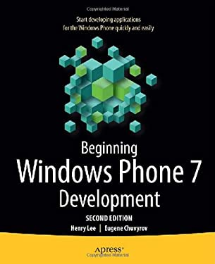 Beginning Windows Phone 7 Development 9781430235965