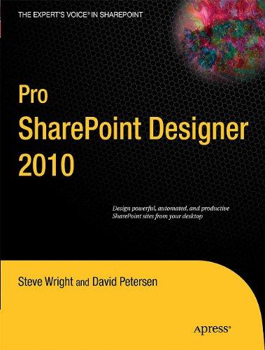 Pro Sharepoint Designer 2010 9781430236177