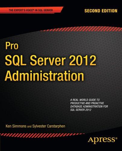 Pro SQL Server 2012 Administration 9781430239154