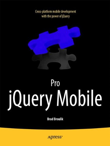 Pro Jquery Mobile 9781430239666