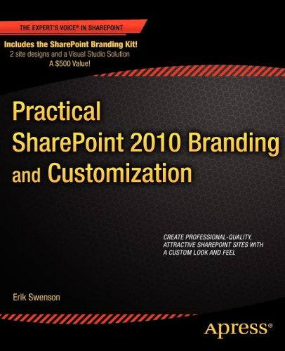 Practical Sharepoint 2010 Branding and Customization 9781430240266