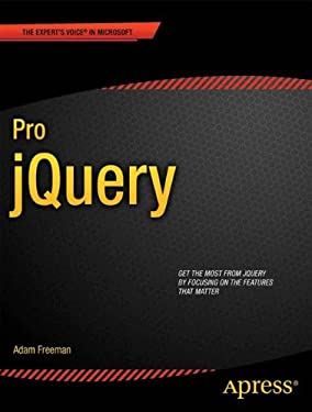 Pro Jquery 9781430240952