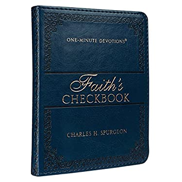 Faith's Checkbook: One-Minute Devotions (LuxLeather)