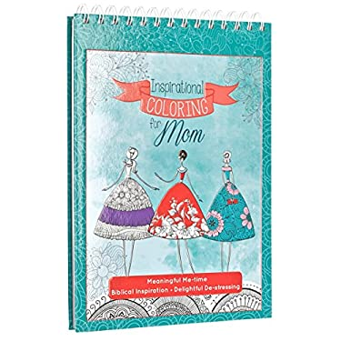 Inspirational Coloring for Mom: Hardcover Christian Coloring Book for Mothers