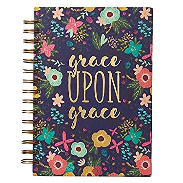 Grace Upon Grace: Journal Wirebound Large