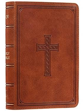 Holy Bible: KJV Large Print Compact Edition: Tan
