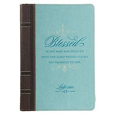 Journal Lux-Leather W/Zipper B
