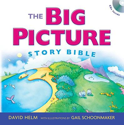 The Big Picture Story Bible [With 2 CDs] 9781433523915