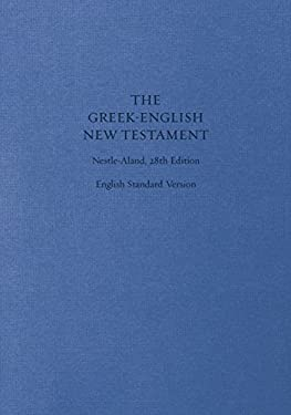 Greek-English New Testament: Nestle-Aland 28th Edition (Cloth Over Board): Nestle-Aland 28th Edition 9781433530319