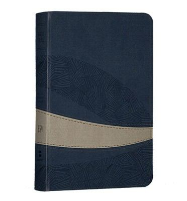 Large Print Compact Bible-ESV-Curve Design 9781433531958