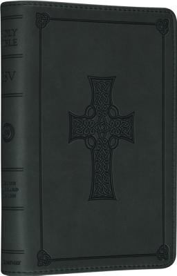 ESV Large Print Compact Bible (Trutone, Olive, Celtic Cross Design) 9781433535598