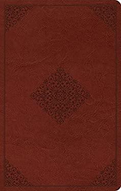 ESV Large Print Value Thinline Bible (TruTone, Tan, Ornament Design)
