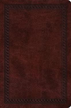ESV Value Compact Bible (TruTone, Mahogany, Border Design)