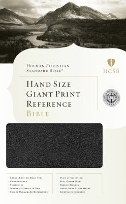 Hand Size Giant Print Reference Bible-HCSB 9781433601668