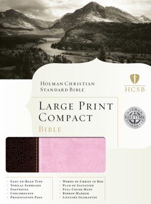 Large Print Compact Bible-HCSB 9781433601941