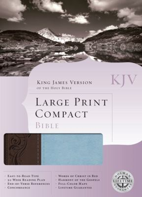 Large Print Compact Bible-KJV 9781433602245