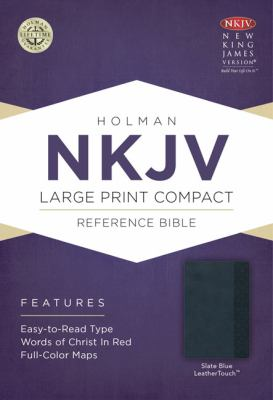Large Print Compact Reference Bible-NKJV 9781433605017